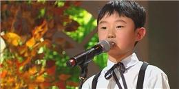 Triệu người nín lặng vì giọng hát của cậu bé 9 tuổi này