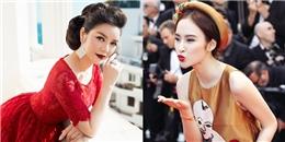 Lý Nhã Kỳ nói gì về Angela Phương Trinh trên thảm đỏ Cannes 2016?