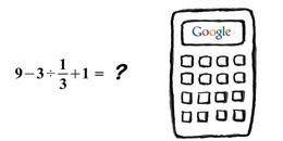 Bài toán gây tranh cãi, đến Google cũng tính sai