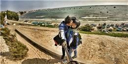 Cặp đôi trẻ 'đưa nhau đi trốn' khắp Việt Nam, chụp ảnh selfie cực chất