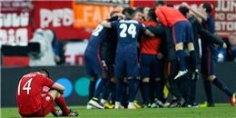 Đội bóng mạnh nhất thế giới bị loại bởi Atletico chơi xấu