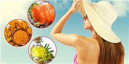 Những loại thực phẩm giúp bạn vượt qua tia UV kinh hoàng của mùa nắng