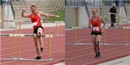 Đứt gót chân, nữ vận động viên vừa khóc vừa đi đến đích