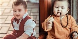 Loạt ảnh mới của cậu bé 'thiên thần lai' gốc Việt gây bão mạng