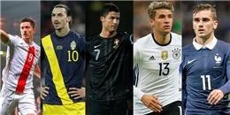 11 ứng cử viên cho danh hiệu Vua phá lưới EURO năm nay