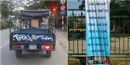 Tuyển tập những khẩu hiệu ở Việt Nam khiến bạn cười 'ra nước mắt'