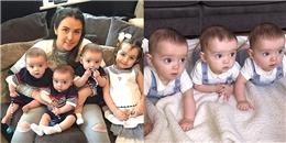 Hiếm có khó tìm: Anh em sinh ba giống nhau 'đến từng sợi tóc'