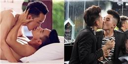 Những nụ hôn đồng giới gây chấn động của sao nam Vbiz