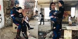 Chiều lòng Sushi, Tim hóa siêu anh hùng Captain America