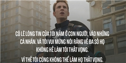 """11 câu nói thâm sâu trong """"Captain America: Civil War"""" bạn không thể quên"""