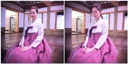 Đặng Thu Thảo mặc Hanbok 'đánh bật' mĩ nhân xứ Hàn