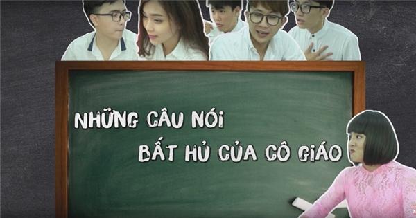 SchoolTV: Những câu nói 'bất hủ' của thầy cô giáo