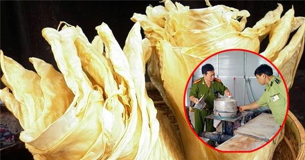 Kinh hoàng váng đậu, đậu hủ ki được làm trắng bằng thuốc tẩy độc hại