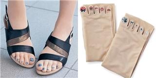 Lại thêm một phát minh tuyệt vời của người Nhật Bản: Vớ sơn móng chân