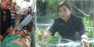 Ca sĩ Việt bị tai nạn mất một cánh tay