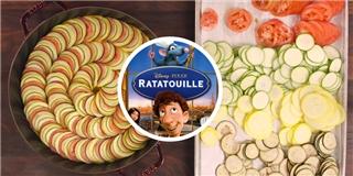 Bí quyết làm món rau hầm  Ratatouille  nổi tiếng trong truyền thuyết