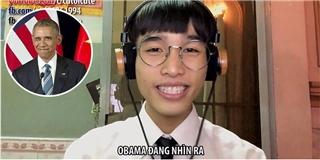 Lại tới Thánh Củ Tỏi hát nhạc chế về... tổng thống Obama