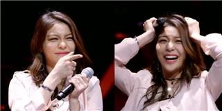 Song ca cùng fan trên sân khấu, thần tượng Hàn bị fan làm  chết điếng