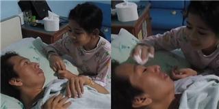 Rơi nước mắt với bé gái ngày ngày hát cho mẹ bị viêm gan siêu vi B