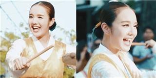 Cận cảnh gái Hàn khiến dân mạng  điên đảo  xuất hiện tại Festival Huế