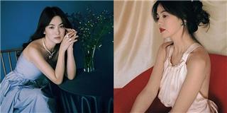 Song Hye Kyo khoe vai trần, bộc bạch về cuộc sống riêng tư