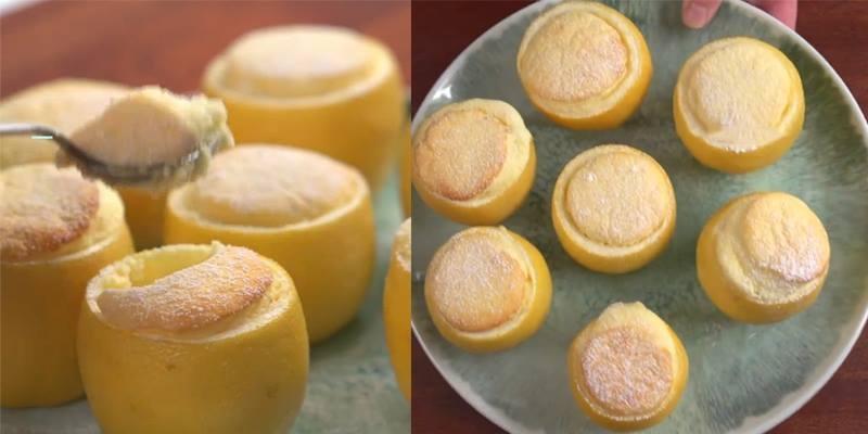 Cách làm món bánh souffle chanh khiến 31 triệu người say đắm