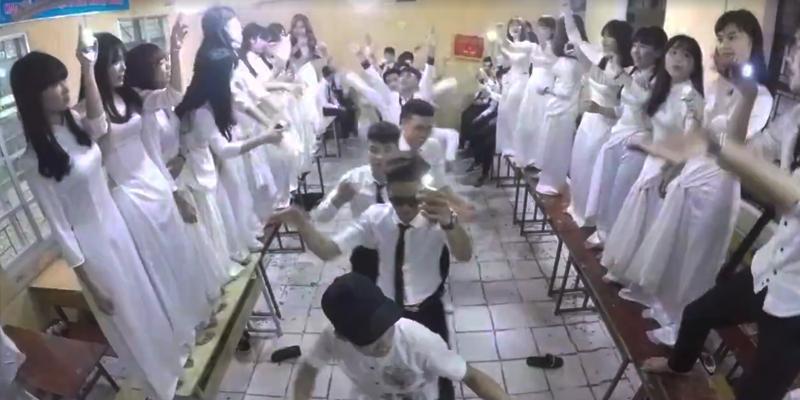 """Thì ra bây giờ học trò Việt quay clip kỉ yếu """"bá đạo"""" thế này"""