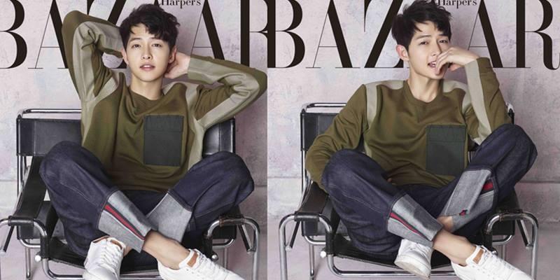 TIm lỡ nhịp xem loạt ảnh mới đẹp hút hồn của Song Joong Ki