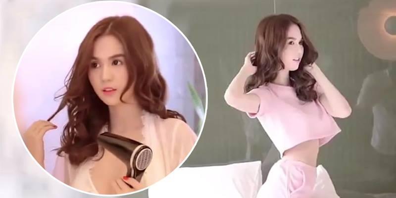 Ngọc Trinh bất ngờ khoe dáng trên kênh thời trang quốc tế FTV
