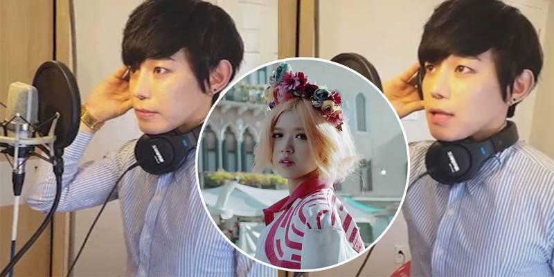 """Trai Hàn cover hit """"Em Đã Biết"""" cực ngọt"""