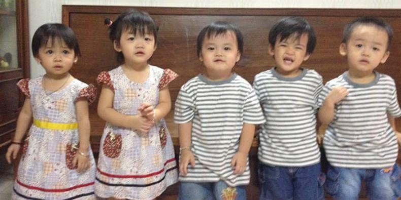Những đứa trẻ trong ca sinh 5 đầu tiên ngày ấy và bây giờ