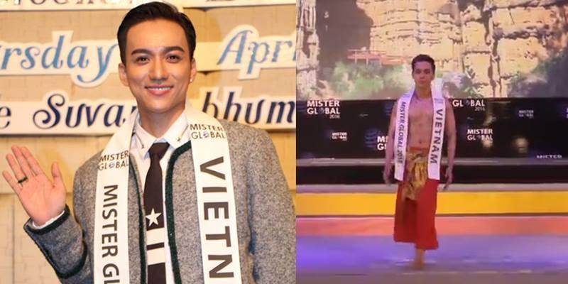 """Đại diện Việt Nam bớt """"bánh bèo"""" trong đêm thi chung kết Mister Global 2016"""
