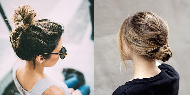 14 kiểu tóc búi vừa đẹp vừa mát cho ngày nắng nóng đổ lửa