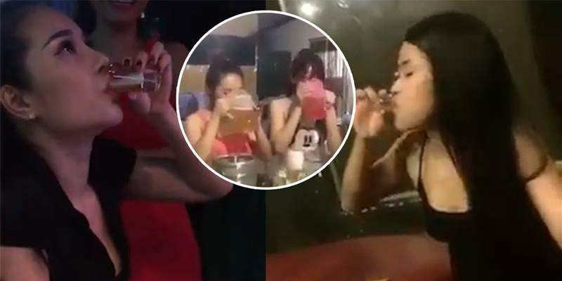 Trào lưu khoe tửu lượng của thiếu nữ Việt gây tranh cãi