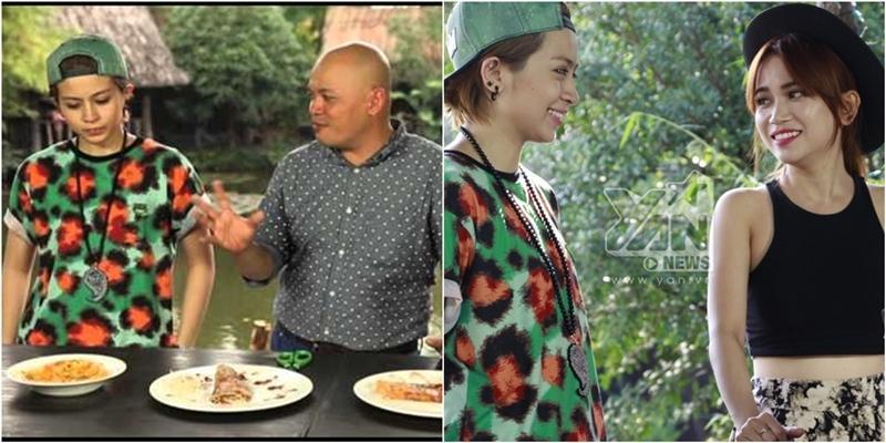 [Bếp Chiến] Gil Lê và Sĩ Thanh làm bánh tráng nướng (Phần 3)