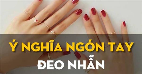 Ý nghĩa của những ngón tay đeo nhẫn trong phong thủy