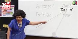 Cô giáo Thái Lan 'bá đạo' trở lại với bài học tiếng Anh 'hại não'