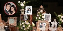 yan.vn - tin sao, ngôi sao - Không gian tiệc đính hôn lãng mạn của Kỳ Hân và Mạc Hồng Quân