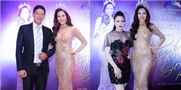Trốn vợ, Bình Minh sánh đôi cùng Hoa hậu Quý bà 2016 Kim Nguyễn