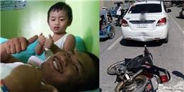 Bất ngờ hành động của người đàn ông bị tung 'méo' xe ô tô