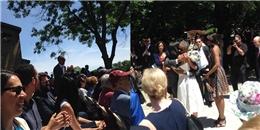 Tổng thống Obama giấu nước mắt trong lễ tốt nghiệp của con gái