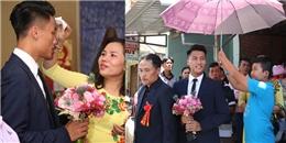 yan.vn - tin sao, ngôi sao - Mạc Hồng Quân bảnh bao diện vest cùng bố mẹ sang nhà Kỳ Hân