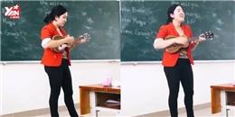 Đây là cô giáo vừa đàn vừa hát tiếng Anh hot nhất hôm nay
