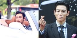 """yan.vn - tin sao, ngôi sao - """"Thanh niên nhọ"""" T.O.P tươi cười được người đẹp chở đến thảm đỏ"""