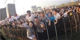 Bộ đôi DJ BoB cùng Yves V đánh bật nắng nóng 40 độ Hà Thành