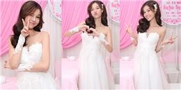 """yan.vn - tin sao, ngôi sao - """"Cô dâu"""" Kỳ Hân xì tin hết cỡ trong ngày vui trọng đại"""