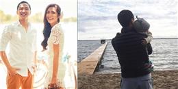 yan.vn - tin sao, ngôi sao - Hình ảnh chồng Tăng Thanh Hà bế con làm
