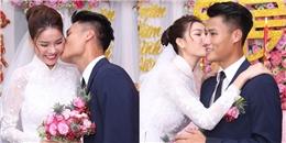 yan.vn - tin sao, ngôi sao - Kỳ Hân cùng Mạc Hồng Quân hôn nhau say đắm trong lễ ăn hỏi