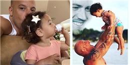 yan.vn - tin sao, ngôi sao - Vin Diesel khoe ảnh mình và con gái