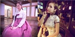yan.vn - tin sao, ngôi sao - Mĩ nhân Việt đẹp đến ngỡ ngàng khi diện quốc phục nước bạn